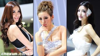 2011广州车展 美女车模不断更新
