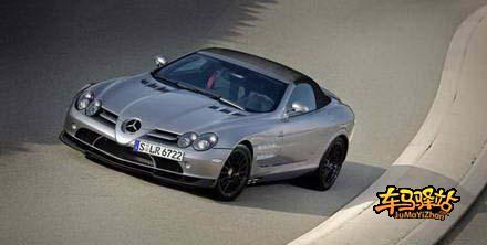 奔驰slr722超级跑车.这辆车是花费3800万新台币(约合人民币高清图片