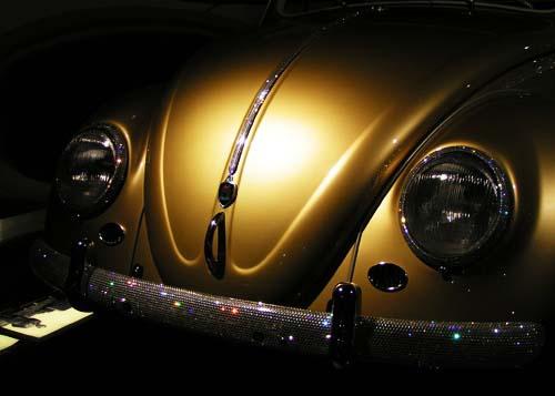 狼堡大众汽车城--镶水晶的甲壳虫