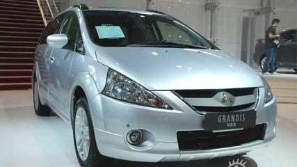 三菱汽车公司召回部分进口格蓝迪及欧蓝德ex高清图片