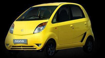 世界最便宜汽车 塔塔Nano在印度上市高清图片