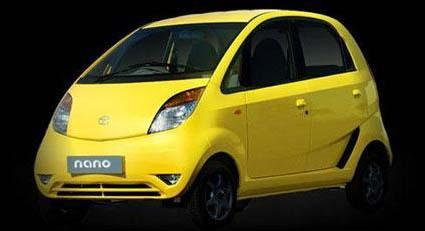 全球最廉价汽车NANO微型汽车上市高清图片