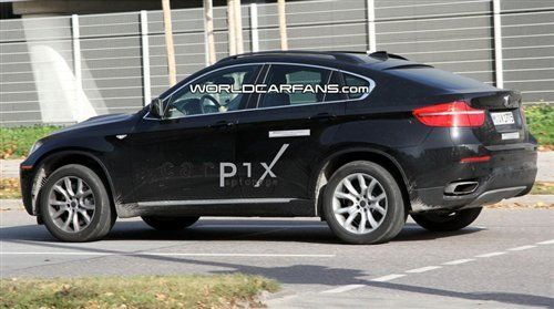 宝马x6混合动力版路试曝光高清图片