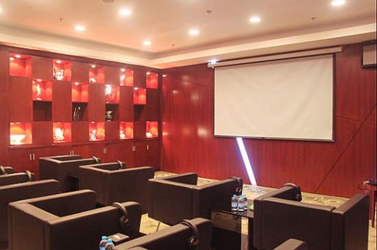 客户休息室的影音放映厅