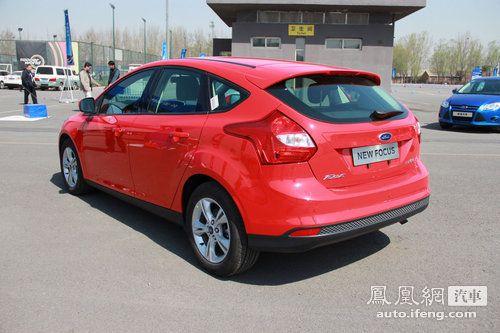 长安福特新福克斯北京车展将上市 共推12款车型 高清图片
