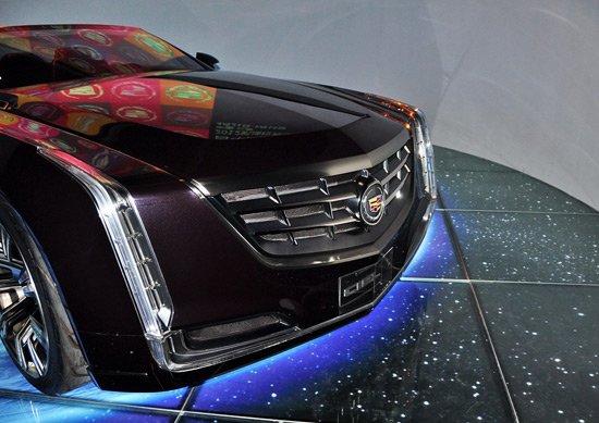 凯迪拉克ciel敞篷概念车北京车展亚洲首发高清图片