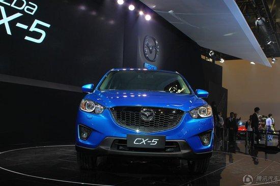 马自达CX-5-马自达SUV车型CX 5亮相北京车展高清图片