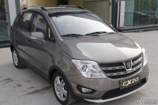 CX20价格:4.99-7.09万元品牌:长安汽车-四川 长安CX20全系优惠高清图片
