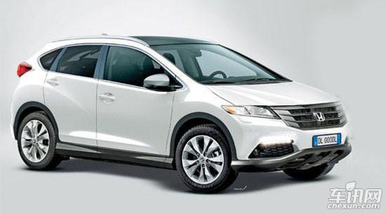 本田紧凑级SUV车型-轿跑篇 SUV篇 一 宝马X5等高清图片