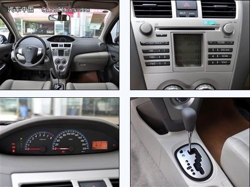 丰田威驰最低多少钱,威驰1.6天窗版售价不足8万高清图片