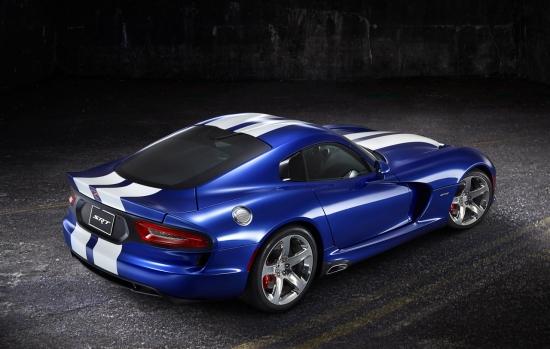 2013款SRT蝰蛇GTS限量版车型亮相汽车巡展高清图片