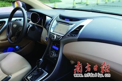 好汉不问出处 试驾北京现代朗动1.8l 6at高清图片