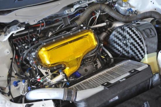 本田为wtcc专用思域研发1.6t发动机