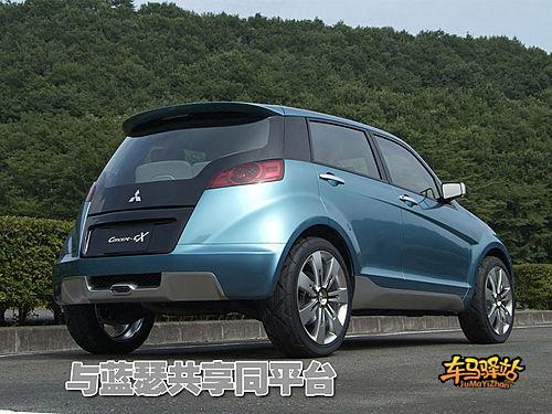 三菱小型SUV明年上市 与日产逍客争抢市场高清图片