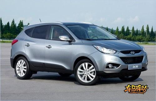 北京现代iX35明年4月上市 售价参考CR V高清图片