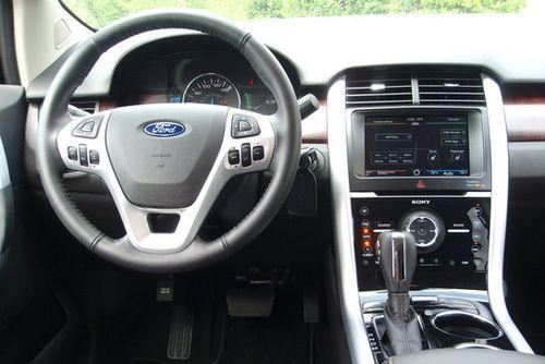选择 试驾福特锐界Edge
