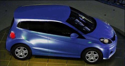 未来或入中国 本田小型车brio全球首发
