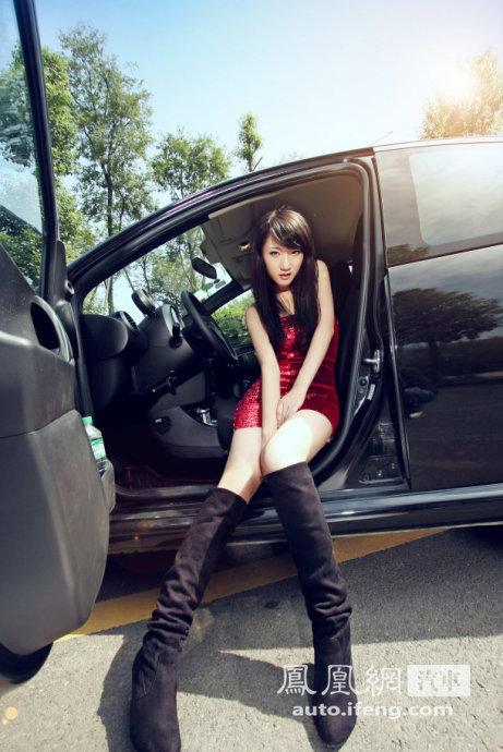 女生可爱车 装饰