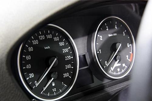 宝马7系仪表盘指示灯图解