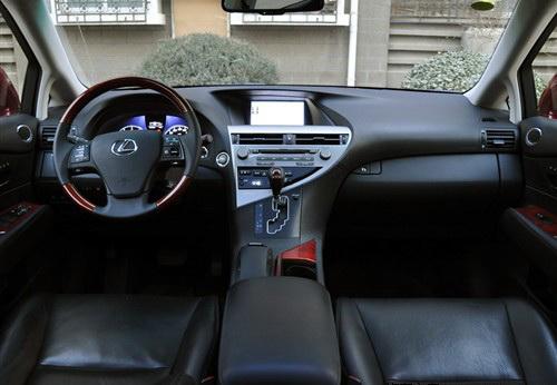 雷克萨斯RX270入门级PK广丰汉兰达高清图片
