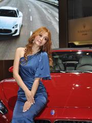玛莎拉蒂3号车模