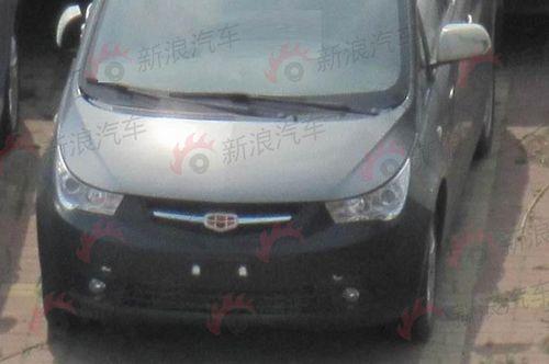 吉利首款MPV车型 帝豪EV8量产谍照曝光高清图片
