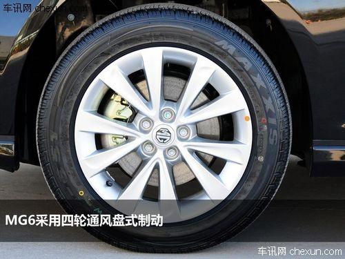 制动型式:四轮通风盘图片