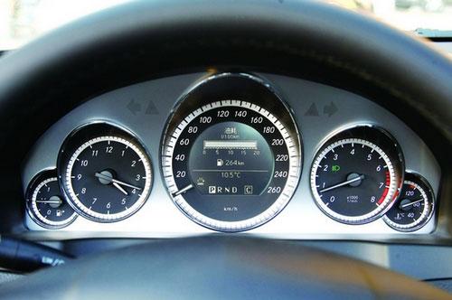 奔驰e260自动挡档位图解
