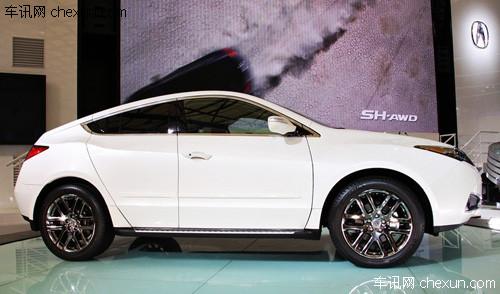 本田讴歌zdx上海车展发布 年内投放中国