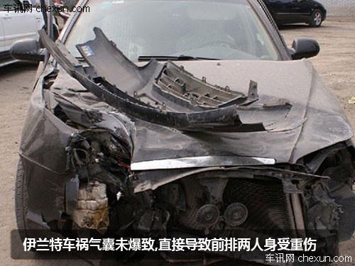 沃尔沃s60车祸图片高清图片