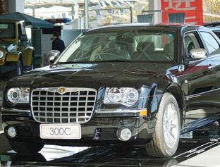 克莱斯勒300c2006款 2.7l豪华领航版 克莱斯勒300c高清图片