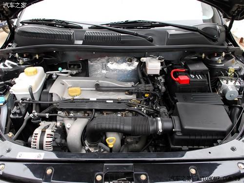 『奇瑞a3装备的1.6l(上)和2.0l发动机』