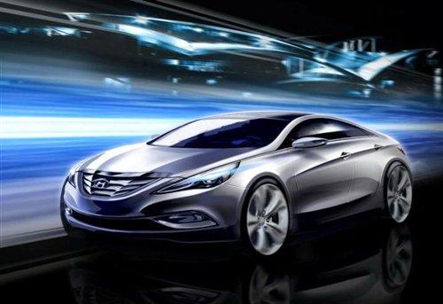 车型库 北京现代 索纳塔      配置方面,新sonata车型将提供包括玻璃